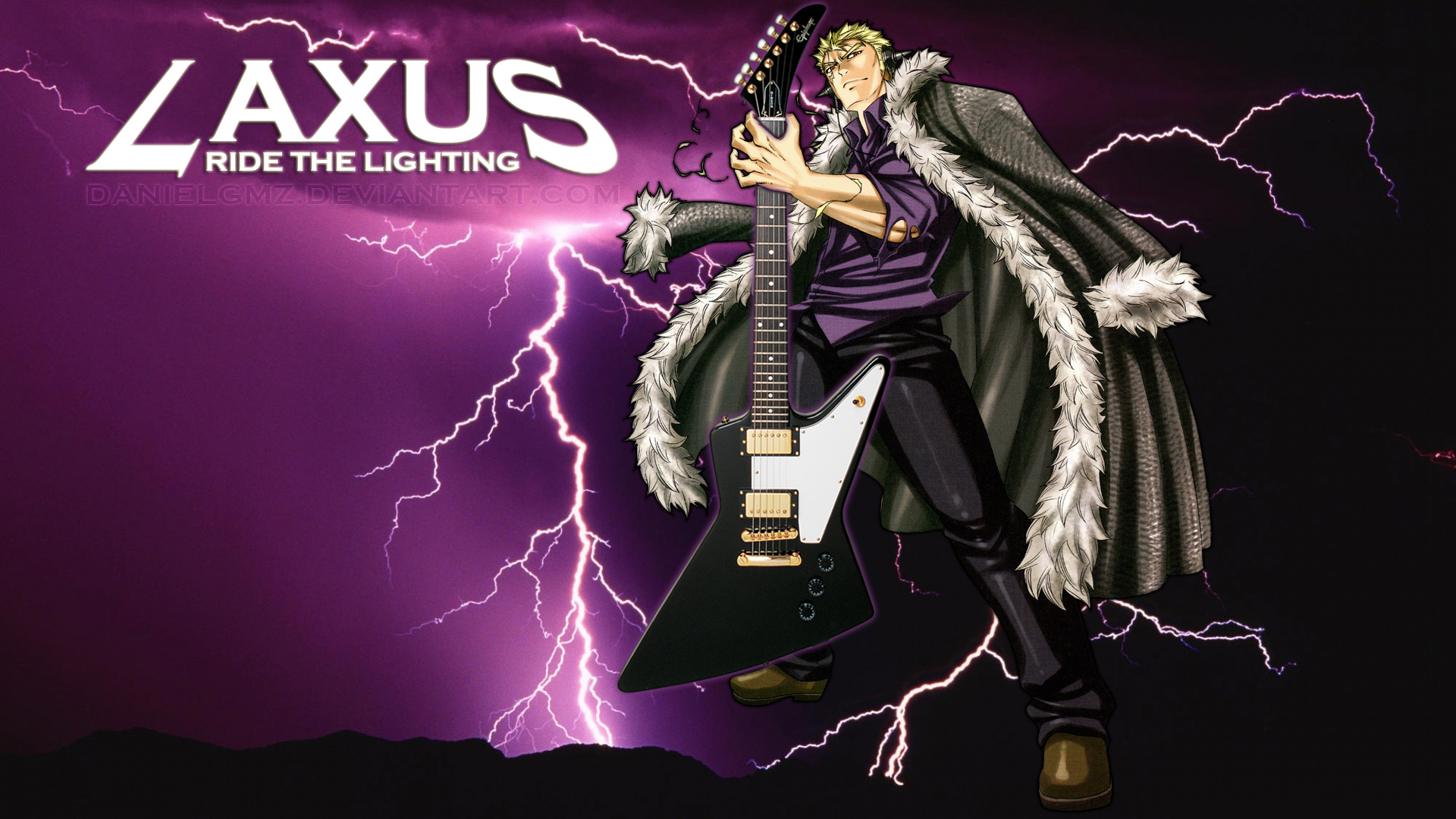 Laxus: Ride the Lighting by Danielgmz on DeviantArt