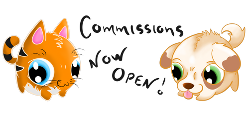 Commissions Now Open ~ Round Animals