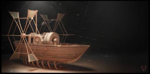 Da Vinci's Boat