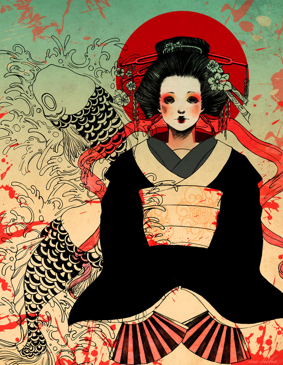 Geisha by Me-Ticha