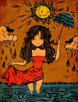 Rainy Girl by Me-Ticha