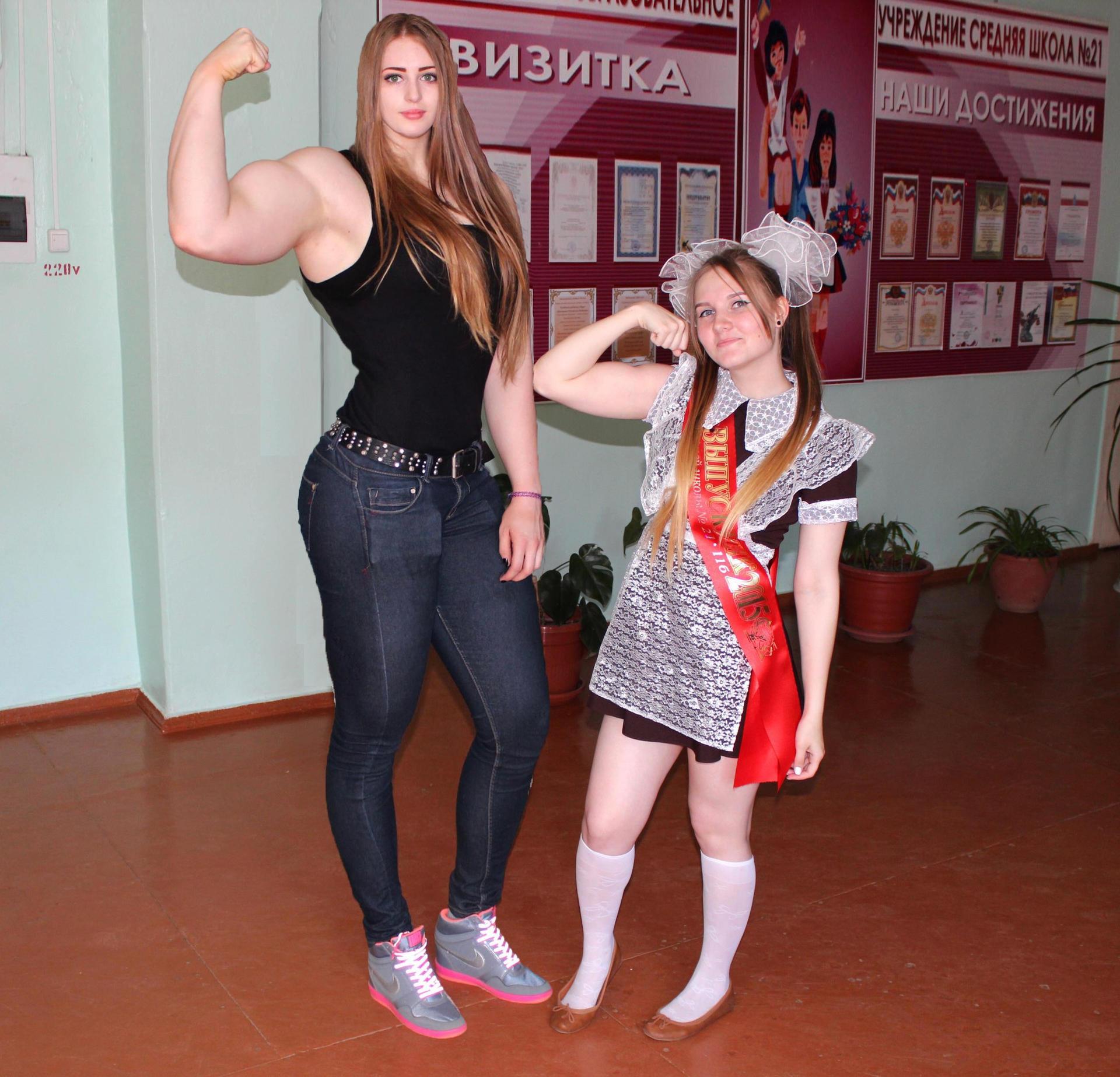 After Julia Vins Muscle Barbie Bigger Taller