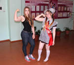 Before Julia Vins Muscle Barbie Bigger Taller