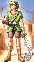The legend of Zelda - Link by oNichaN-xD