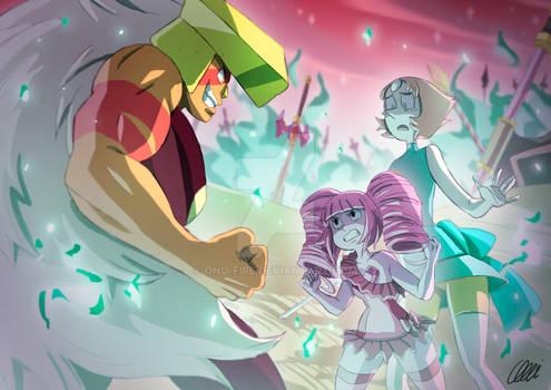 Steven Universe Commission - On the battlefield