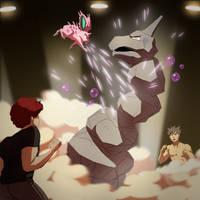 Pokemon - Oni VS Brock by oNichaN-xD