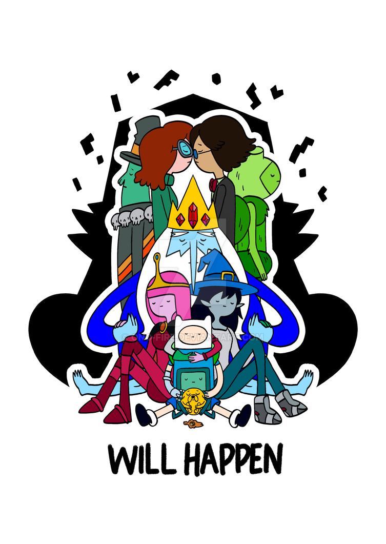 Adventure Time - Will Happen by oNichaN-xD