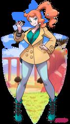 Pokemon Sword and Shield - Sonia by oNichaN-xD
