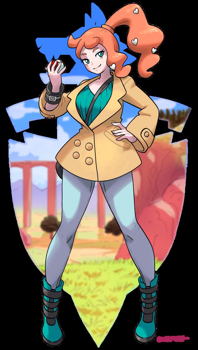 Pokemon Sword and Shield - Sonia