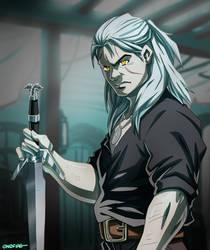 Geralt de Rivia [SPEEDPAINT]