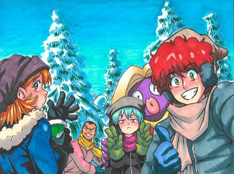 Pokemon Legend - Snow Mountain