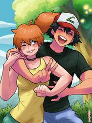 Pokemon - Misty and Ash
