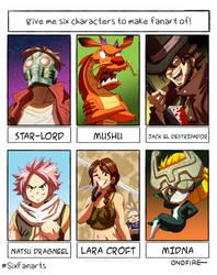 Six Characters Challenge 2020