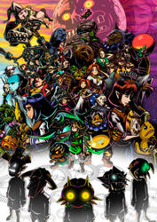 Zelda - Majora's Mask Tribute [SPEEDPAINT]