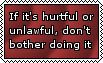 General rule of thumb by Blood-B0xer
