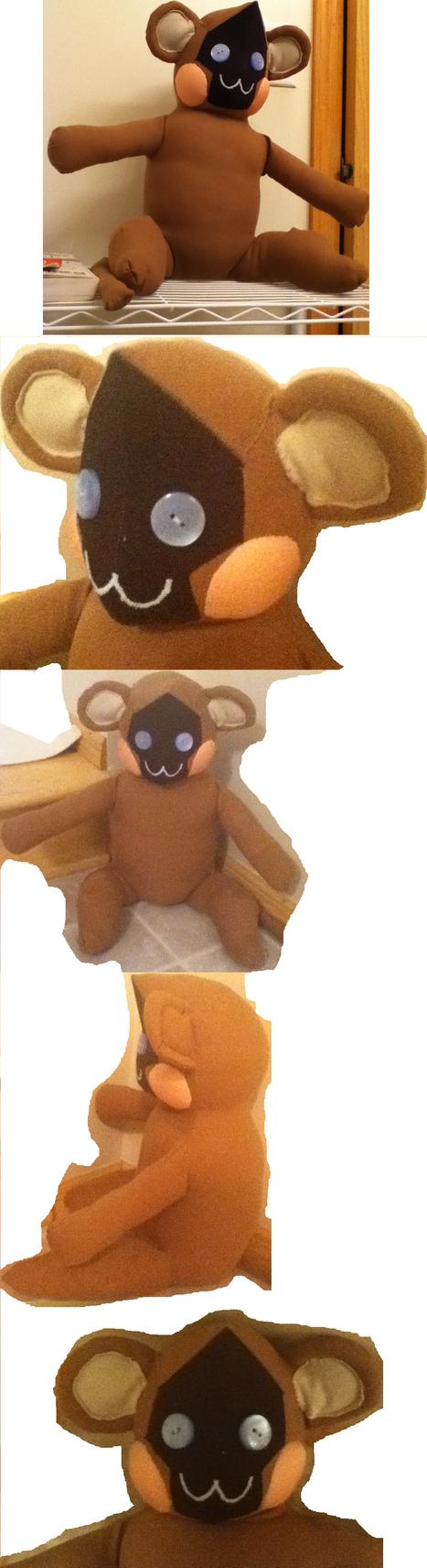 Tristan Robot Monkey Plushie by FoggyPebble
