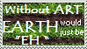 Without art stamp by FoggyPebble