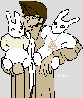 Look Tristan adopted two bunnies by FoggyPebble