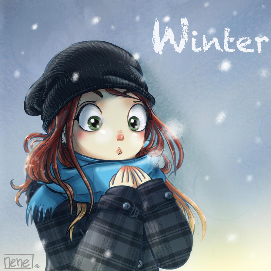 Winter by not-nene