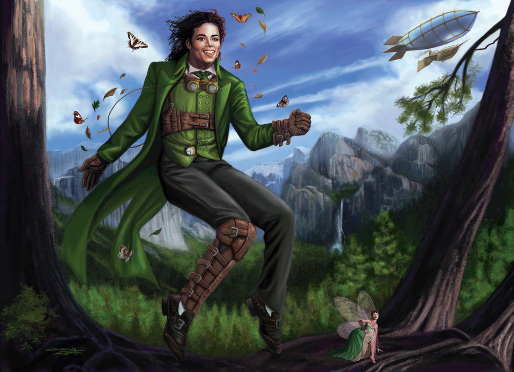 Steam Punk Michael Jackson by rebelakemi