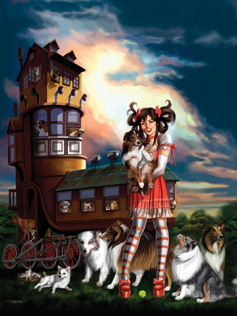 Old Shoe Dogs by rebelakemi