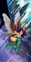 Flying Girl
