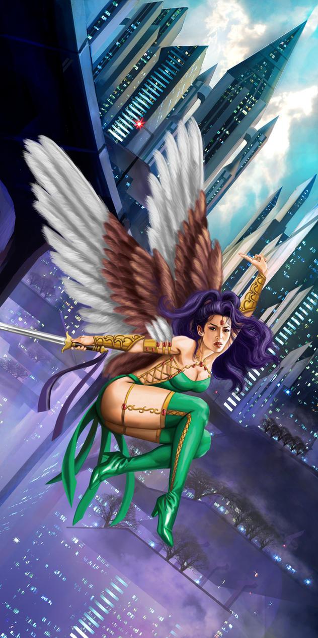 Flying Girl by rebelakemi