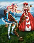 Steampunk Gothic Lolilta Alice Croquet