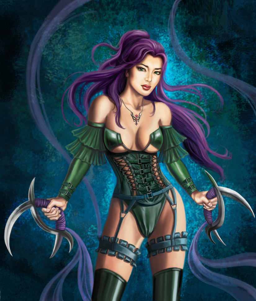 Warrior Princess by rebelakemi