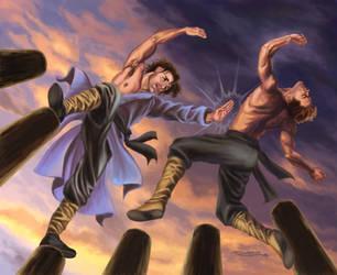 Tai Chi Fighting by rebelakemi