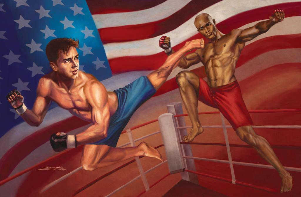 Ultimate Fighting Championships by rebelakemi