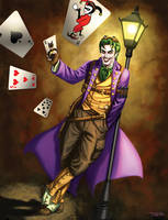 Steampunk Joker by rebelakemi