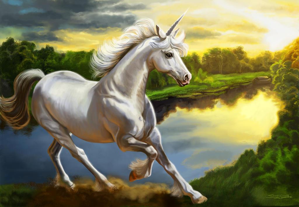 Unicorn Missing Noah's Ark by rebelakemi