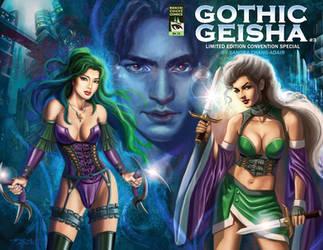 Gothic Geisha #3 Cover by rebelakemi