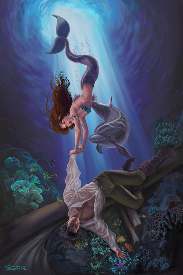 "Avatars ""Contes & Légendes"" Little_Mermaid_by_rebelakemi"