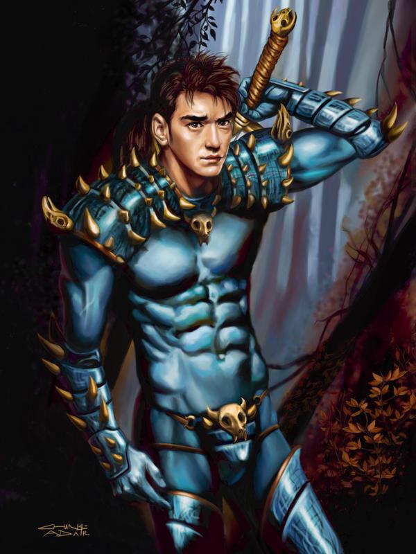 Rebel Knight Vampyre Hunter by rebelakemi