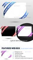 Featured Web Box by AncaDeaconu