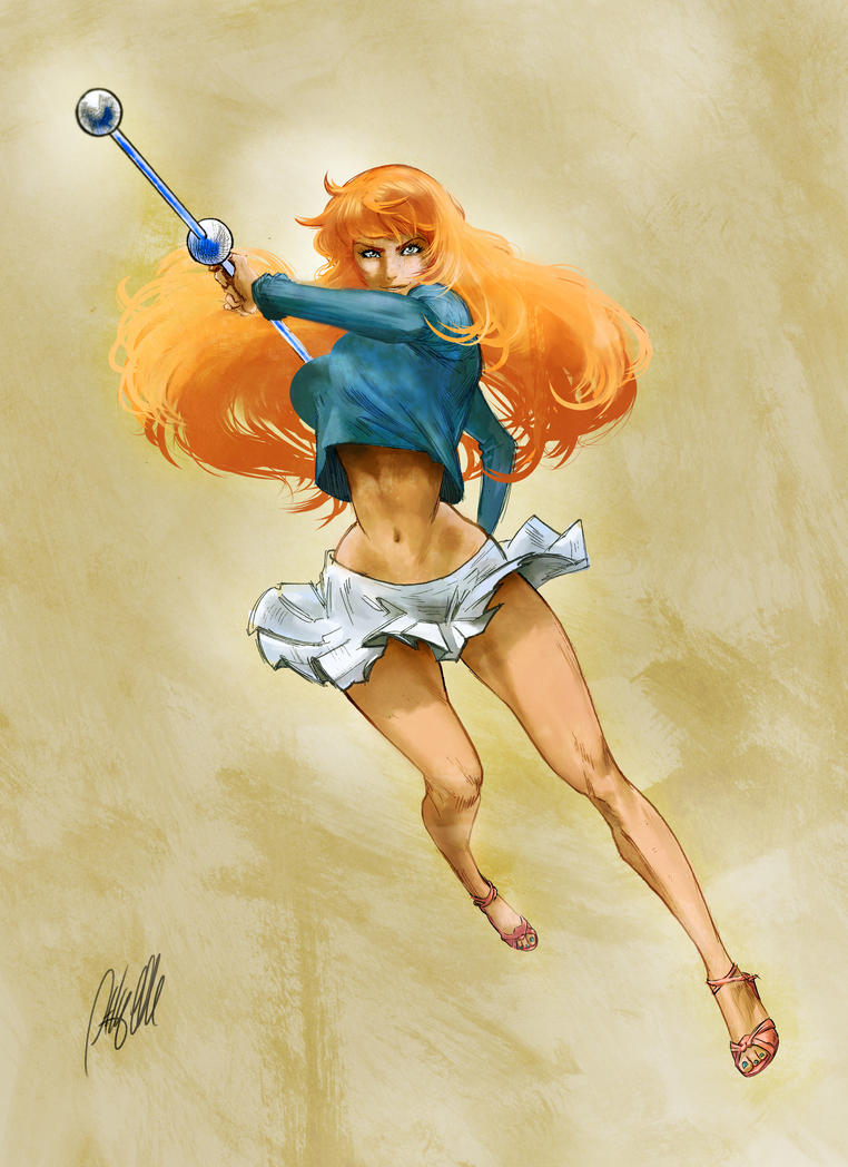 Nami - One Piece - New World - Colored by AnthonyGonzalesClark