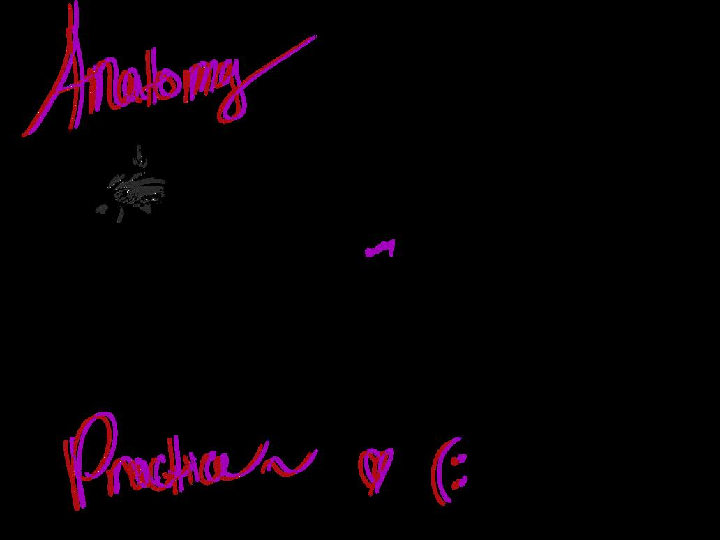 Anatomy Doodle Practice by CrimsonnWolf