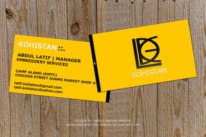 Abdul Latif Business Card by AbdulMotaalMosleh