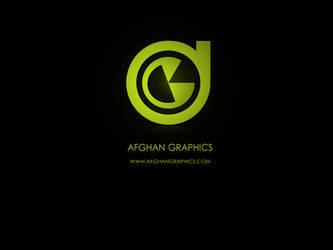 Afghan Graphics Logo by AbdulMotaalMosleh