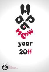 Happy New Year 2011 by AbdulMotaalMosleh