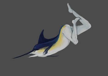 Mermay Marlin by saltwaterhermit