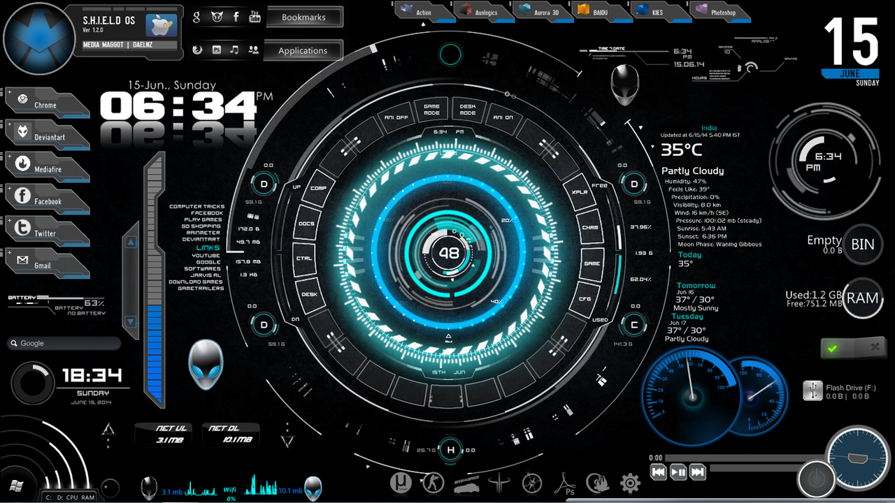 🐈 Iron man jarvis theme for windows 10 download | Iron Man