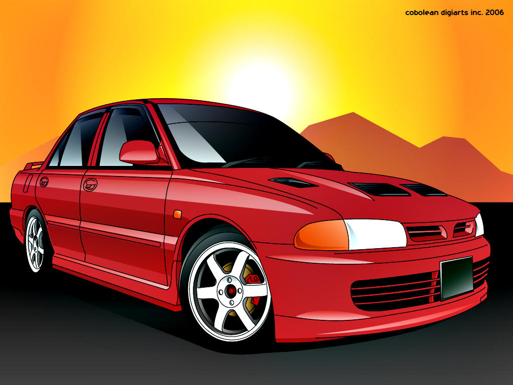 Proton Wira To Lancer Gsr By Hafisidris On Deviantart