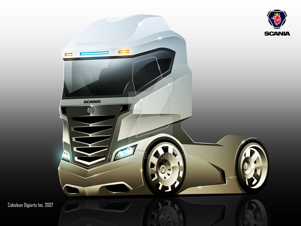 Scania Concept Truck By Hafisidris On DeviantArt