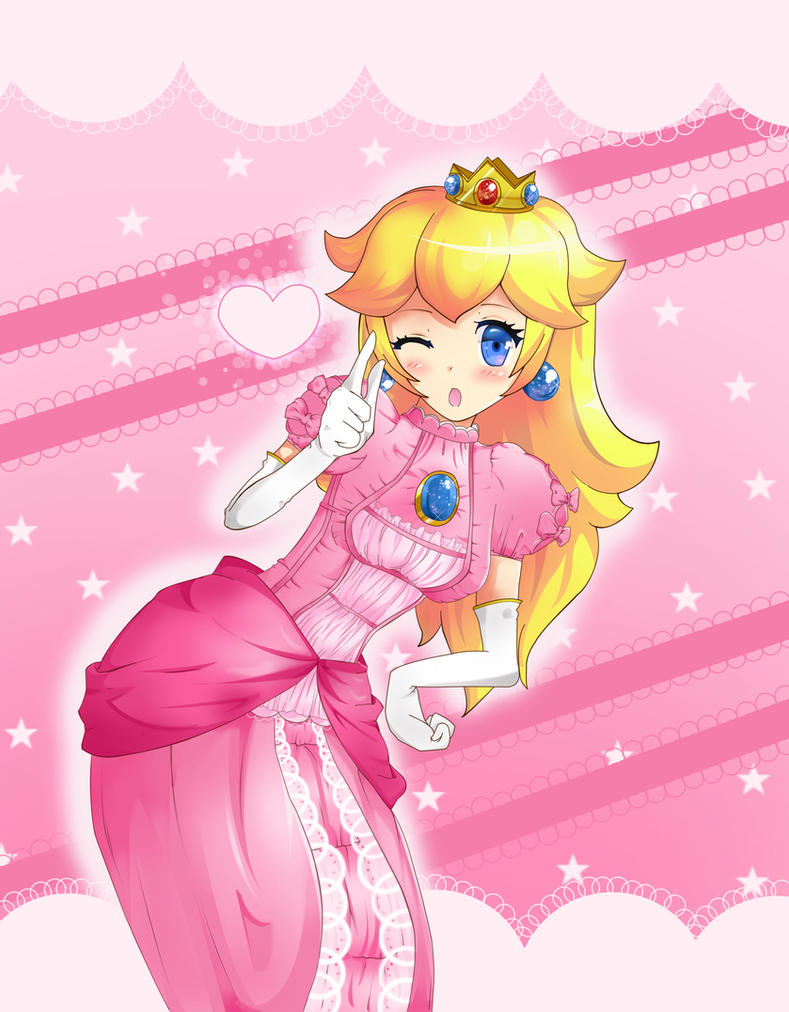 deviant hentai art peach Princess