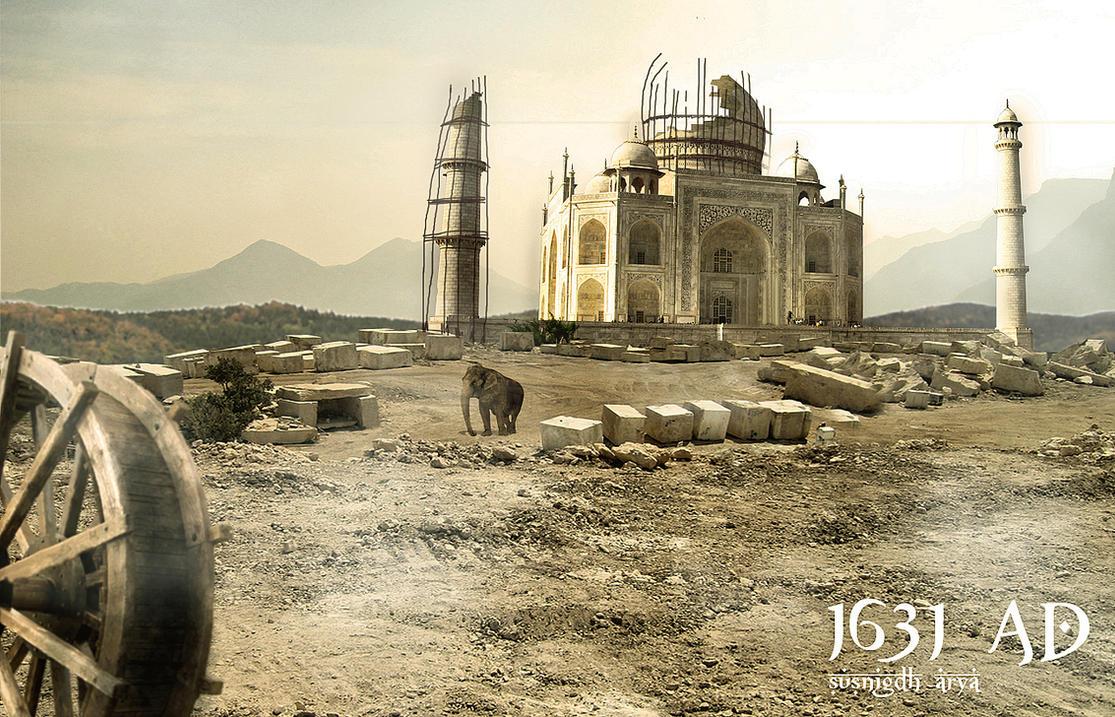 Taj Mahal by susnigdh