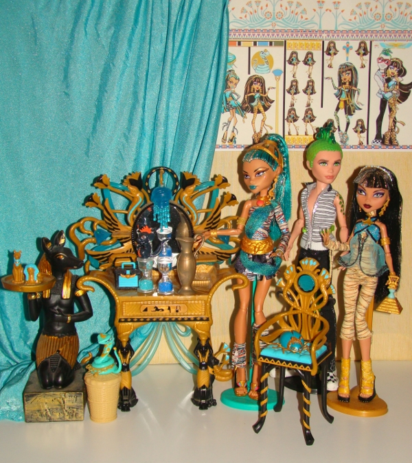 Monster high cleo nefera deuce egyptian palace by camiiieee on deviantart - Monster high deuce ...
