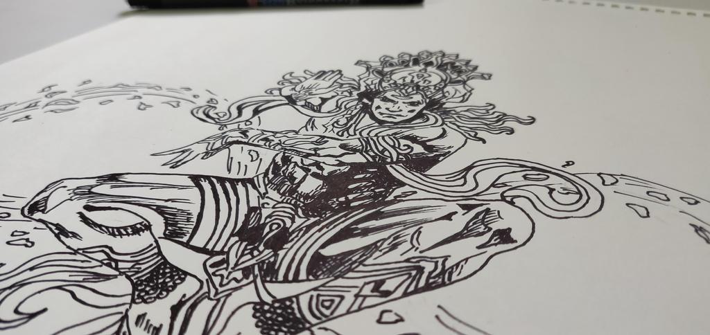 Shiva Sketch By Tejusrevi On Deviantart